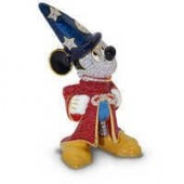 Sorcerer Mickey Mouse Jeweled Figurine by Arribas - Large
