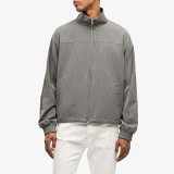 Opening Ceremony Tailored Warm-Up Jacket Charcoal Grey