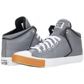 Converse Chuck Taylor All Star High Street Synthetic Leather Hi Mason/White/Gum Honey