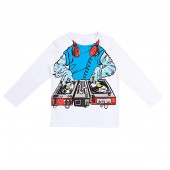 Long Sleeve Tee with Monster DJ (Toddleru002FLittle Kidsu002FBig Kids)