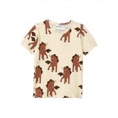 Unicorns All Over Printed Short Sleeve Tee (Infantu002FToddleru002FLittle Kidsu002FBig Kids)