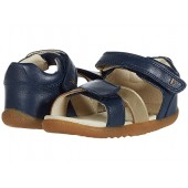 Bobux Kids Step Up Sail Sandal (Infantu002FToddler) Navy/Gold 1