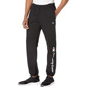 Champion Powerblend Graphic Relaxed Bottom Pants Black