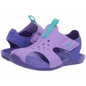 Nike Kids Sunray Protect 2 (Infantu002FToddler) Atomic Violet/Hyper Jade/Hyper Grape
