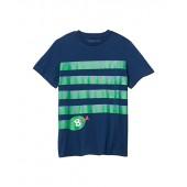 Short Sleeve Snake Stripes Tee Early (Toddleru002FLittle Kidsu002FBig Kids)