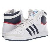 adidas Originals Top Ten Hi Neo White/New Navy/Collegiate Red