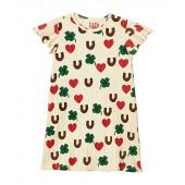 Clover All Over Printed Wing Dress (Toddleru002FLittle Kidsu002FBig Kids)