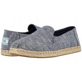 TOMS Deconstructed Alpargata Navy Chambray