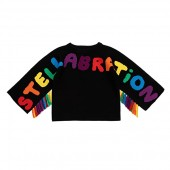 Stellabration Sweater with Arm Fringes (Toddleru002FLittle Kidsu002FBig Kids)
