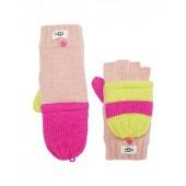 Color-Block Knit Flip Mittens (Toddler/Little Kids)