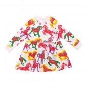 Painted Horse Sweatshirt Dress (Toddleru002FLittle Kidsu002FBig Kids)
