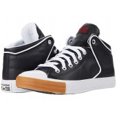 Converse Chuck Taylor All Star High Street Synthetic Leather Hi Black/University Red/Honey