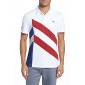Asymmetrical Colorblocked Polo