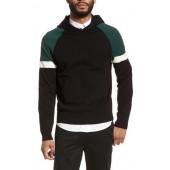 Colorblocked Pullover Hoodie