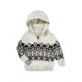 Benny Hooded Knit Sweater