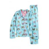 Two-Piece Fleece Pajamas