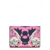 Babylon Saffiano Leather Trifold Wallet