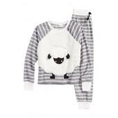 Appliqu Two-Piece Pajamas