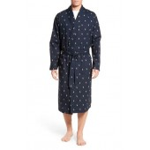 'Polo Player' Cotton Robe