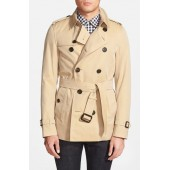 Sandringham Short Double Breasted Trench Coat