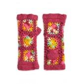 Flower Crochet Hand Warmers