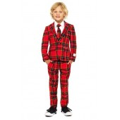 Oppo Lumberjack Two-Piece Suit with Tie