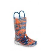 Digital Camo Light-Up Rain Boot