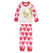 Big Love Fitted Two-Piece Pajamas