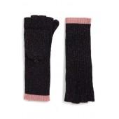 Jubilee Shimmer Fingerless Merino Wool Blend Gloves