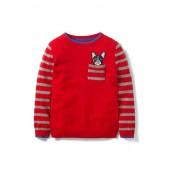 Pocket Crewneck Cotton & Cashmere Sweater