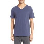 Stretch Cotton V-Neck T-Shirt