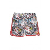 Logo Print Swim Trunks
