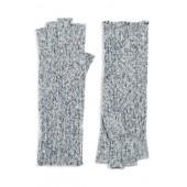 Rib Knit Fingerless Gloves
