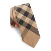 Manston Check Silk Tie