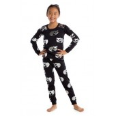 Sleeping Foxes Fitted Two-Piece Pajamas