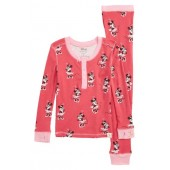 Disney  Minnie Mouse Fitted Two-Piece Pajamas