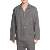 Woven Pajama Top