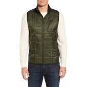 'Corbet 120' Quilted Zip Front Vest
