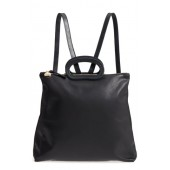 Marcelle Lambskin Leather Backpack