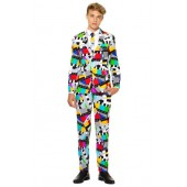 Oppo Testival Two-Piece Suit with Tie