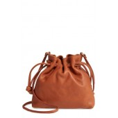 Petit Henri Leather Bucket Bag