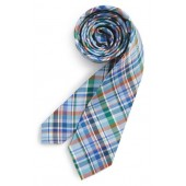 Campbell Plaid Silk Tie
