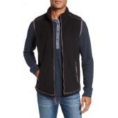 Bonded Fleece Zip Front Vest