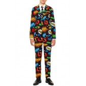 Oppo Badaboom Two-Piece Suit with Tie