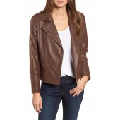 Gia Leather Biker Jacket