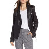 Convertible Leather Jacket