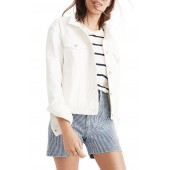 Boxy Crop Jean Jacket