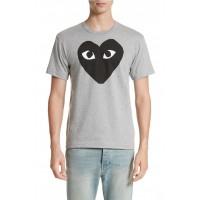 Comme des Garcons PLAY Logo Graphic Crewneck T-Shirt