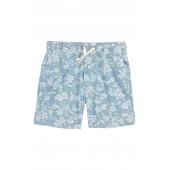 Floral Chambray Dock Shorts
