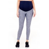 'Active' Maternity Leggings with Crossover Panel